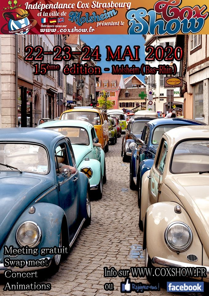 15e Molsheim Cox Show 2020