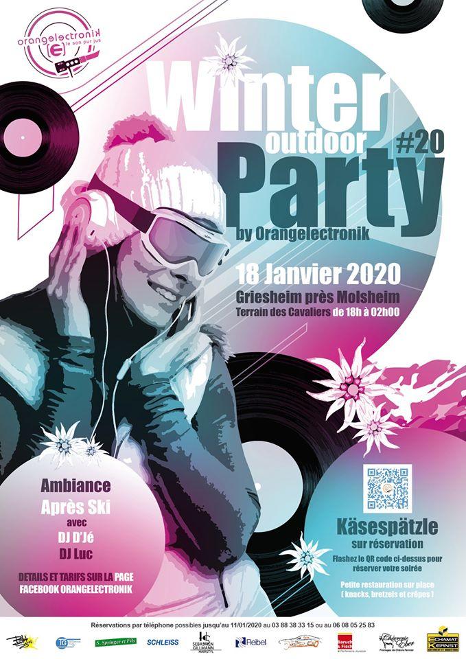 #20 Winter Outdoor Party by Orangelectronik 2020 Griesheim-près-Molsheim