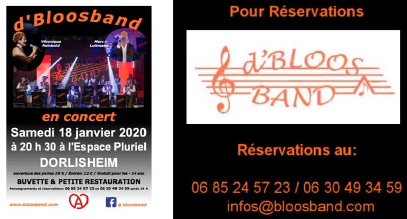 D'Bloosband en Concert 2020 Dorlisheim