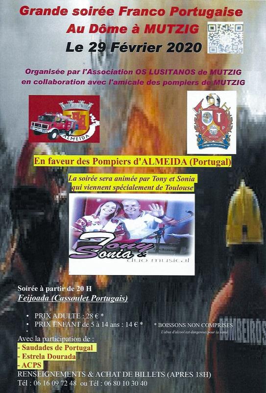 Soirée Franco Portugaise 2020 Mutzig