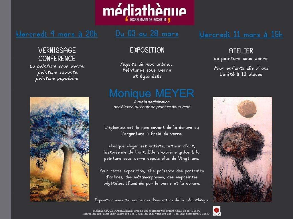 Exposition Peinture sous verre 2020 Rosheim
