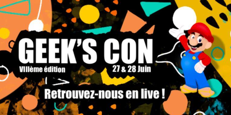La Geek's Con part en live