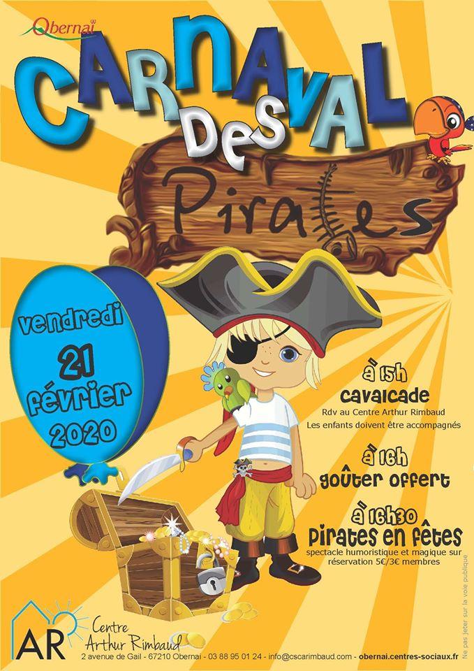 Carnaval des Pirates 2020 Obernai