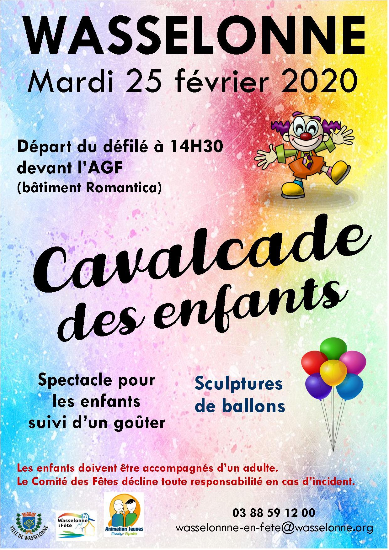 Cavalcade des Enfants 2020 Wasselonne