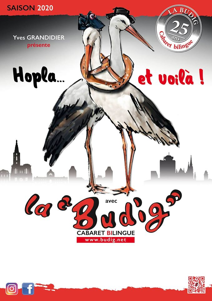 Hopla et voilà 25e revue Cabaret La Budig 2020 Marlenheim