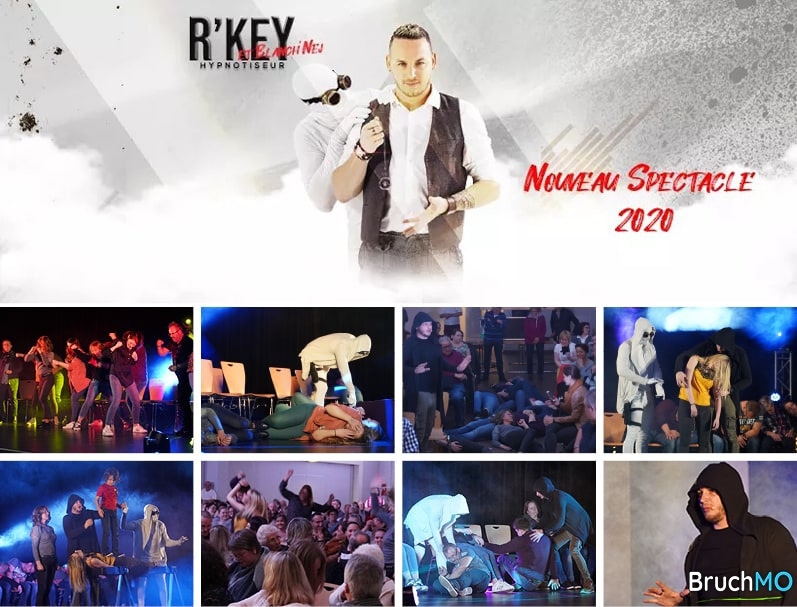 Spectacle Hypnose R'key et Blanch'Nej 2020 Gresswiller