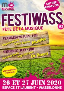 #3 FESTIWASS Fête de la Musique 2020 Wasselonne