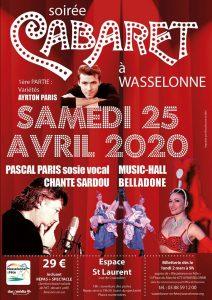 Soirée Cabaret 2020 Wasselonne