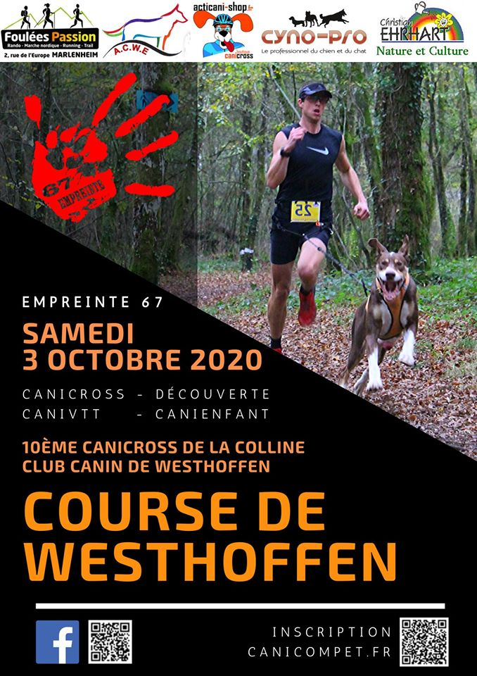 10e Canicross de la Colline 2020 Westhoffen