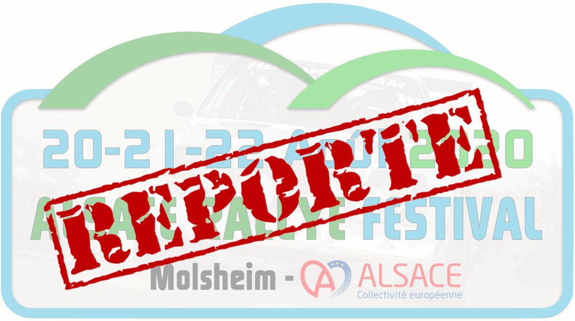 Alsace Rallye Festival 2020 Molsheim