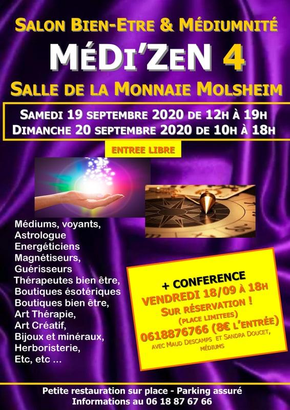 #4 Salon MéDiZeN Bien-Être et Médiumnité 2020 Molsheim