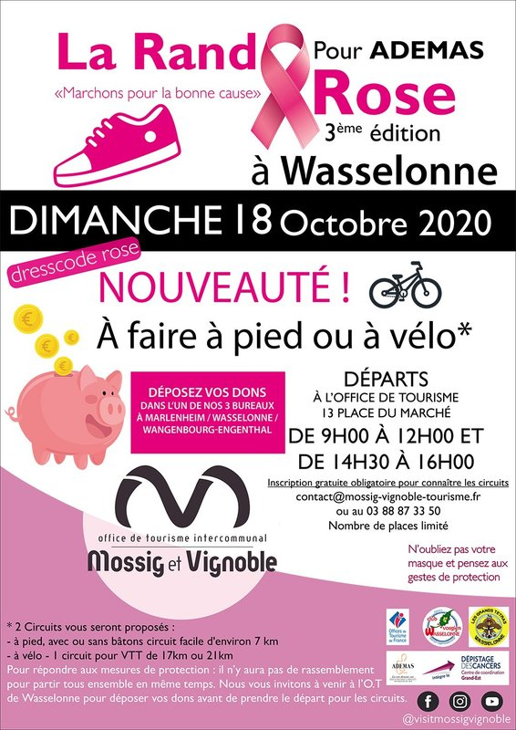 La Rando Rose 2020 Wasselonne